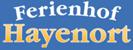 Ferienhof Hayenort